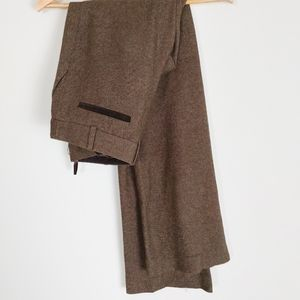 Club Monaco Brown Dress Pants Trouser wool blend 4
